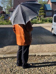 思い出のこうもり傘の写真
